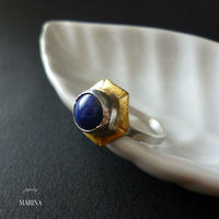 Antique ring - lapis lazuli