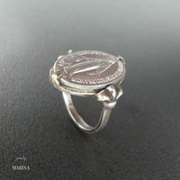 フランス奇跡のメダイのリング - silver