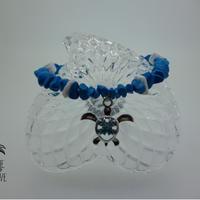 ターコイズとホヌのブレスレット - Hawaiian jewelry -