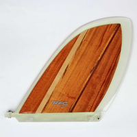 RAINBOW FIN レインボーフィン ロングボード用フィン classic wood Skeg VELZY  8.5