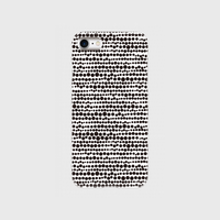 点、点、点。dot black / white 片面 smart phone cover