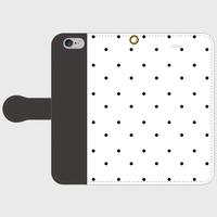 polka dot  WH smart phone cover / iPhone (期間限定価格)