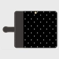 polka dot BK smart phone cover / Android  (期間限定価格)