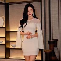 ワンピース❤袖にポンチョのようなお洒落デザイン有の個性派ドレス hdfks962332