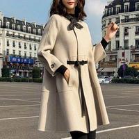 スプリングコート❤アウター リボン可愛いフェミニンガーリーの為の春コート hdfks962060