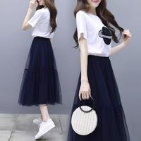 ワンピース❤可愛いフェミニンガーリーなロングスカート切り替えワンピ hdfks962165