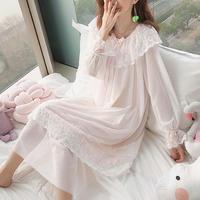 ルームウェア❤お姫様のような可愛さのレースルームウェアワンピース hdfks962987