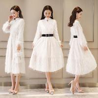 ワンピース❤韓国ドレス ふわふわのとっても可愛いドレスが見つかりました hdfks961818