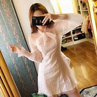ワンピース❤レースでセクシー、フェミニンガーリーで可愛いミニドレス hdfks962014