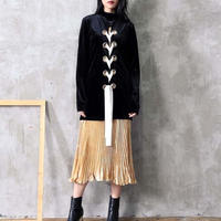 ジャケット❤アウター モードで個性的好きな方に編み上げのジャケット hdfks961800