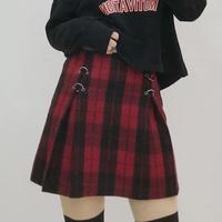 スカート❤チェック柄が韓国ファッション!お洒落さんなミニスカート! hdfks961024