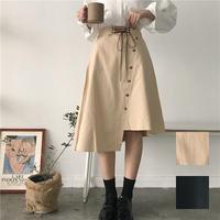 スカート❤アシンメトリーな形で人気の韓国ファッション オルチャンスカート! hdfks958592