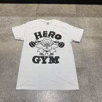 HEROGYM Gorilla Tシャツ white
