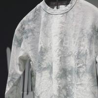 MARS Mirror Long Sleeve T-shirt White Tie-dye