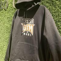 HERO GYMパーカー black