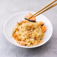 「炊き込み御飯の素」銀鮭
