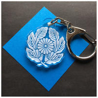 家紋 「抱き菊の葉に菊」