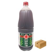 [12]マルホン 純正胡麻油 一升ポリ 1650g ✕6本入 1箱 業務用 お買い得!!