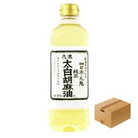 [128]九鬼太白純正胡麻油 600g✕10✕1箱【お取り寄せ品】