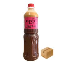 [10]【メーカーより直送】アオキ ユッケジャンスープ 1120g(1L)✕12入✕1箱 業務用 箱買い 送料無料