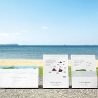 父母ヶ浜メモ 水平線(写真左)