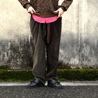 "Sunny side up(サニーサイドアップ)/Unisex Remake 2 For 1 ""Codyroy Trousers ""brown size1"