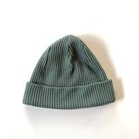 Jackman(ジャックマン)/ Waffle Knit Cap  Wall Green