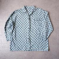 """【フランスより】""""old nel pajamas shirt""""/French/print nel"""