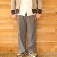 weac.(ウィーク)/RELAX WIDE PANTSリラックスワイドパンツ Grey stripe