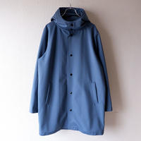 【ラスト1着/size:M】Jackman (ジャックマン)/High-density Jersey Coat/Ash Blue