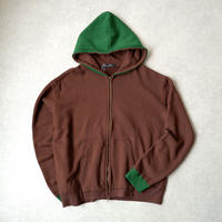 Nasngwam (ナスングワム) /PHANTON ZIP PARKA/brown×green