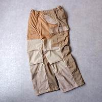 【Re/ M-65】 Nasngwam (ナスングワム) /BARBARIAN PANTS/beige/M-2