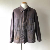 【FROM EURO】OLD EURO WORK JACKET/雰囲気抜群/brown