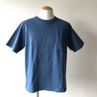 Jackman(ジャックマン)/Dotsume Pocket T-Shirt/度詰めポケットTシャツ/Ash Blue