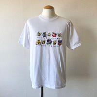 【FROM USA】 used print T-shirt /used/White/T-6