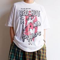 "THRIFTY LOOK(スリフティールック)/""Red Hot chili peppers""オフィシャルライセンシー S/S Tシャツ"