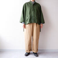 Remake by catta-05/ Swedish Military Shirts/Khaki-3
