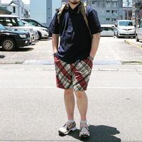 ☆ストレスなしの一着☆weac.(ウィーク)/relax easy short pants/red