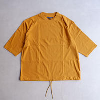 TIGRE BROCANTE (ティグルブロカンテ)/0コーマ天竺ボースン半袖T/gold