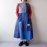 TIGRE BROCANTE(ティグルブロカンテ)/Remake euro work mix army切替ワンピース/C