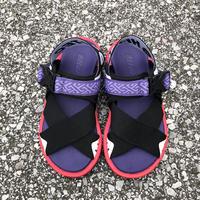 【抜群の履き心地】 HI-TEC(ハイテック)/ KAWAZ FLEX2/purple×red