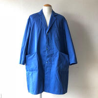 【FROM EURO】OLD EURO WORK COAT/used/wide-size/blue