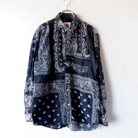 Nasngwam (ナスングワム) /SKELTER SHIRTS/remake/bandanna/M-1