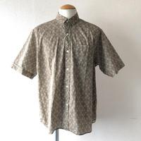 【夏シャツ】 weac.(ウィーク)/ FLORIST/rétro/beige