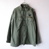 "【vintage】70s US Army Utility Shirts ""All Cotton""/1"