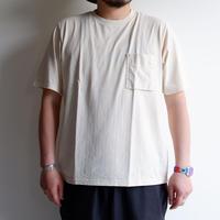 【無染色/Kinari】Jackman(ジャックマン)/Pocket T-Shirt/Kinari