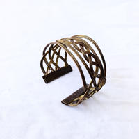 【FROM USA】used brass bangle /used/brass