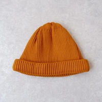 RoToTo(ロトト)cotton rollup beanie /yellow