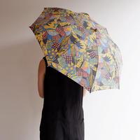 TIGRE BROCANTE(ティグルブロカンテ) /ラジャスターンプリント 折り畳み日傘/yellow