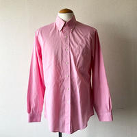 【FROM USA】 BROOKS BROTHERS/ shirt /used/pink/S-6/ダメージ有り